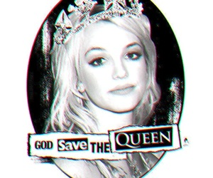 britney spears, Queen, and black and white image