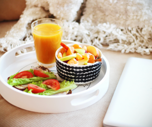 breakfast, fitness, and food image