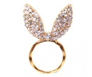 bunny, diamonds, and ears image