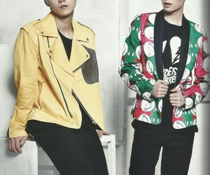 exo, lay, and luhan image