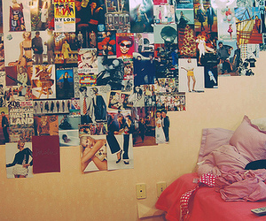 bedroom, Collage, and girly image