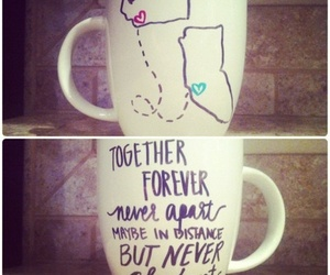 love, cup, and diy image