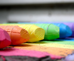 colors, rainbow, and colorful image