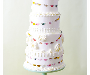 cake, wedding, and my love image