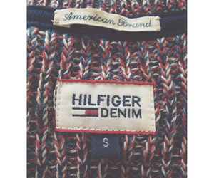 clothes, sweater, and tommy hilfiger image