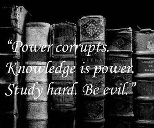 power, knowledge, and study image