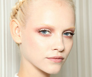 model, fashion, and ginta lapina image