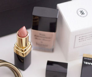 lipstick, chanel, and makeup image