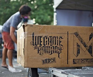 we came as romans, merch, and wcar image