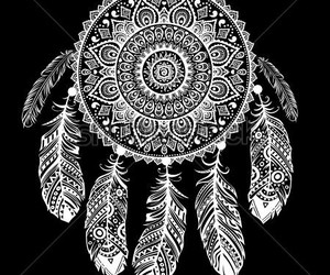 indian, native, and dreamcatcher image