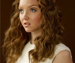 hair and Lily Cole image