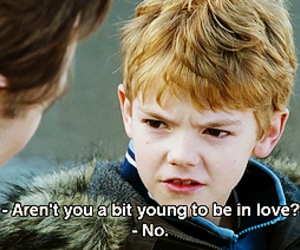 young love and love actually image