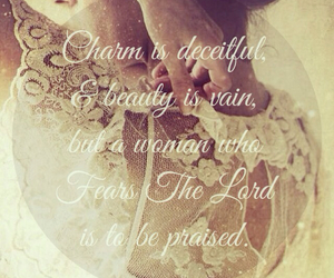 beauty, bible, and charm image