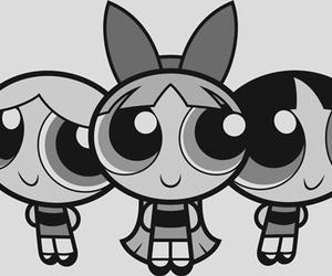 cartoon, powerpuff girls, and bubbles image