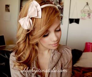 bow, fashion, and girl image