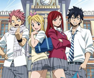 fairy tail, anime, and Lucy image