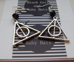 goth, gothic, and harry potter image