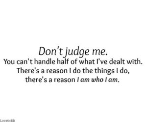 quote, judge, and life image