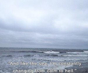 sea, hell, and quotes image