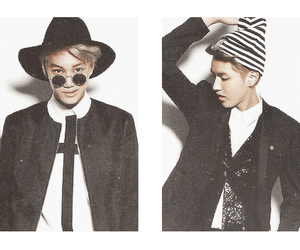 exo, kris, and kai image