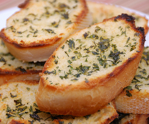bread, delicious, and food image