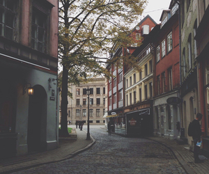 street, city, and vintage image