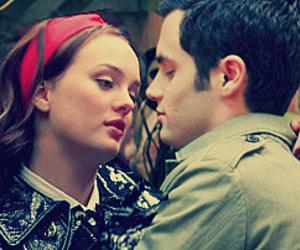 gossip girl and dan e blair image