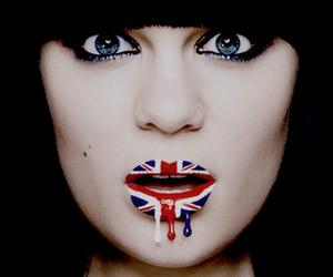 jessie j, lips, and england image