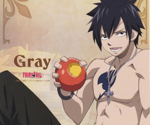 fairy tail and gray fullbuster image