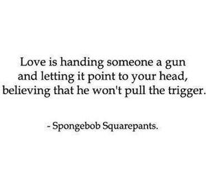 love, quotes, and spongebob image