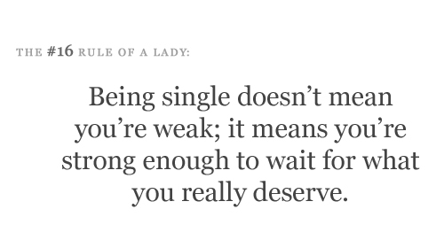 Being Single Via Tumblr On We Heart It