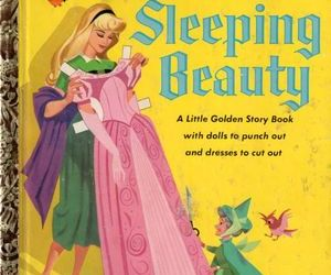 90s, disney, and little golden book image