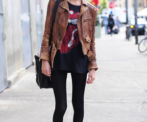 fashion, girl, and rolling stones image