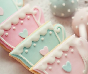 Cookies, pink, and pastel image