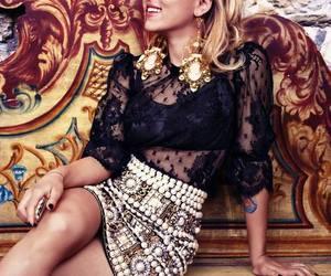 Scarlett Johansson and blonde image