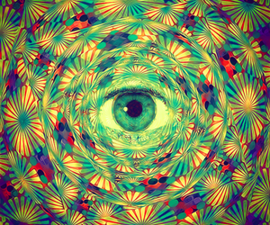 eye, psychedelic, and art image