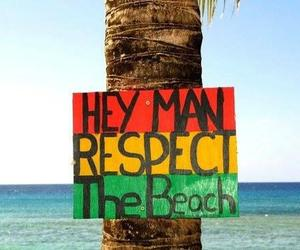 beach, man, and love image