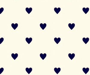 background, hearts, and navy blue image