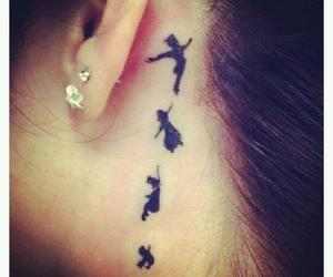 tattoo and peter pan image