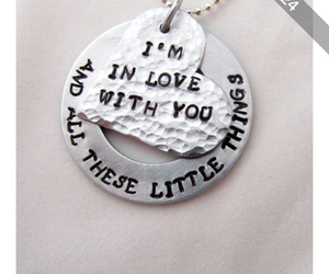 little things, neckless, and Polyvore image
