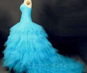 ball gown, beautiful, and love image