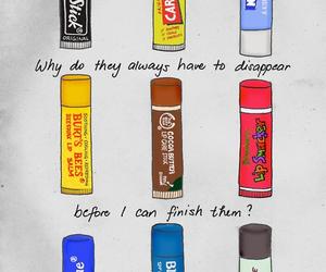 nivea, lipstick, and chapstick image