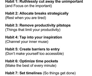 awesome, believe, and Habit image