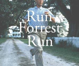 run, forrest gump, and movie image
