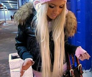 barbie, long hair, and blonde image