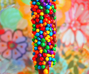 candy, colorful, and chocolate image