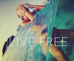 summer, free, and live image