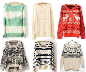 fall, stripes, and wintertime image