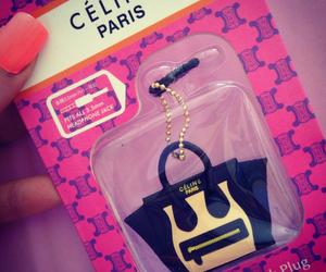 celine, bag, and pink image