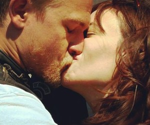 Charlie Hunnam, gorgeous, and kiss image